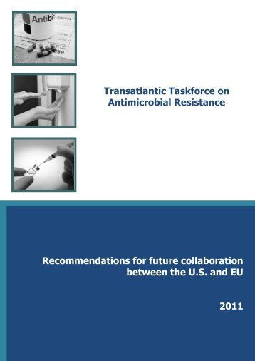 Transatlantic Taskforce on Antimicrobial Resistance - European ...