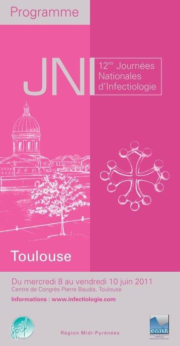 Programme complet des JNI 2011 en PDF - Infectiologie