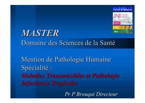 MASTER - Infectiologie