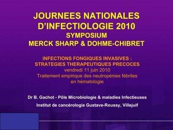 Traitement empirique des neutropénies fébriles en ... - Infectiologie
