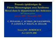 Poussée épidémique de Fièvre Hémorragique avec ... - Infectiologie