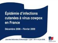 Une épidémie d'infections cutanées à virus « cow pox - Infectiologie
