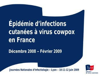 Une épidémie d'infections cutanées à virus « cow pox - Infectiologie