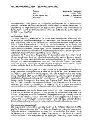 Impfung für Haustiere (PDF) - Das Erste