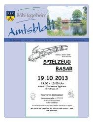 Amtsblatt vom 17.10.2013 (KW 42) - Gemeinde Böhl-Iggelheim
