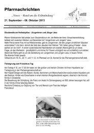 Pfarrnachrichten - erftmuendung.de