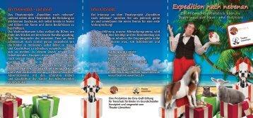 Expedition nach nebenan - Erna-Graff-Stiftung für Tierschutz