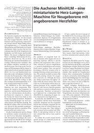 eine miniaturisierte Herz-Lungen - Deutsche Gesellschaft für ...