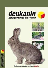 deukanin Broschüre - Deutsche Tiernahrung Cremer GmbH & Co. KG