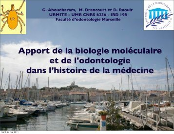 Diapositive 1 - Infectiologie
