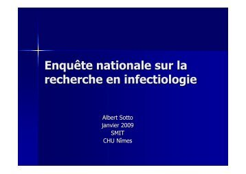 annuaire A Sotto - Infectiologie