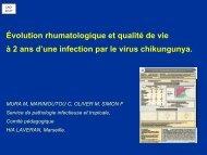 Qualité de vie à deux ans d'une infection chikungunya ... - Infectiologie