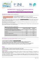 (minimum 20 personnes)s - Infectiologie