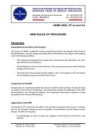 D 0507 EN ADOPTED - UEMS NEW ROP - Infectiologie