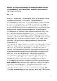 Stellenwert von Daptomycin bei Infektionen durch ... - Infekt-Liga