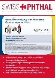 Swiss Ophthal 03-2013 - mechentel marketing