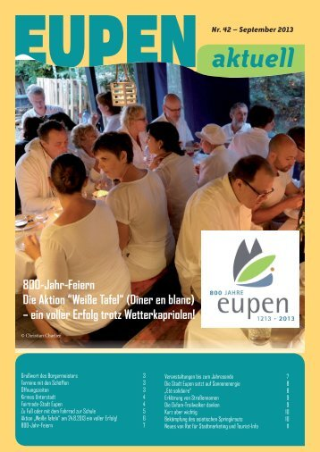 aktuell - Stadt Eupen