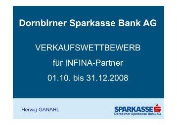 D bi S k B k AG Dornbirner Sparkasse Bank AG - INFINA