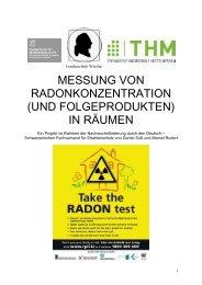 MESSUNG VON RADONKONZENTRATION - Fachverband für ...