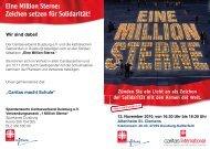 Eine Million Sterne - Caritasverband Duisburg e.v.