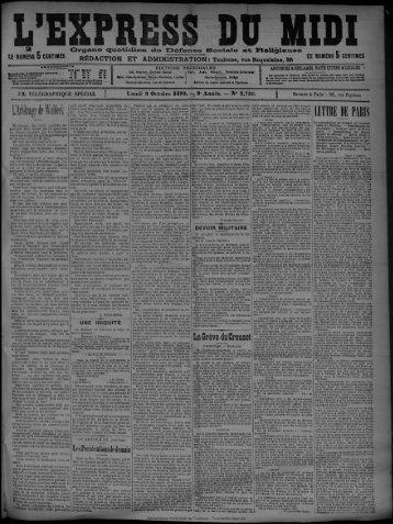 La Grève du Creusot - Presse régionale