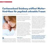Kind-Haus für psychisch erkrankte Frauen - Caritasverband ...