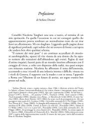 Scarica la prefazione del libro - Infinito Edizioni
