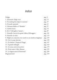 Scarica il prologo del libro - Infinito Edizioni