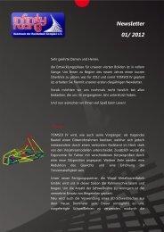 Newsletter 01/ 2012 - Infinity Racing