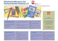Schulmaterialkammern des Caritasverbandes Duisburg e.v.