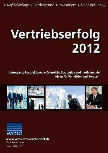 wmd brokerchannel Vertriebserfolg 2012 - INFINUS AG - Ihr ...