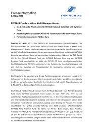05.03.2013 Pressemitteilung INFINUS AG - INFINUS AG - Ihr ...