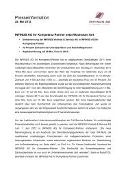 04.05.2012 Pressemitteilung INFINUS AG Spende Oliver Kahn ...