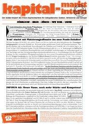 INFINUS GRUPPE im k-mi-Report Juni 2012 - INFINUS AG - Ihr ...