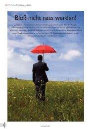Finanzwelt 04/2010 - INFINUS AG - Ihr Kompetenz-Partner