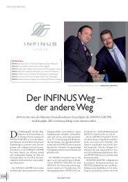 Finanzwelt_12011_3:Layout 1 - INFINUS AG - Ihr Kompetenz-Partner