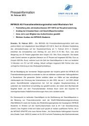 INFINUS AG Finanzdienstleistungsinstitut - INFINUS AG - Ihr ...