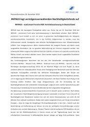 Pressemitteilung 29.12.2010 INFINUS AG baut hauseigene ...