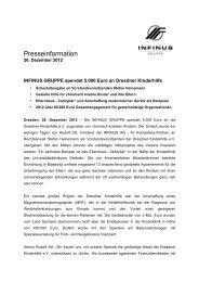 12-12-26 INFINUS GRUPPE spendet 5.000 Euro an Dresdner ...