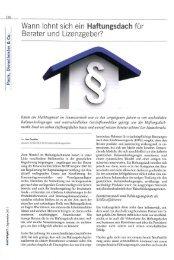 AssCompact 9/2011 - INFINUS AG - Ihr Kompetenz-Partner