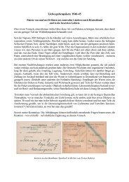Liebesgabenpakete nach Deutschland im 2. Weltkrieg