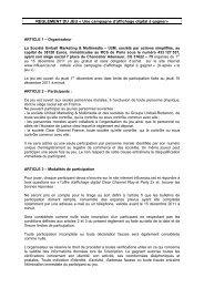 MAQUETTE jeu concours Influencia 5