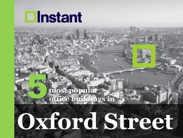 Most Popular Office Buildings in Oxford Street