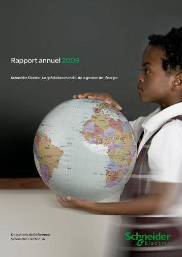 Rapport annuel 2009 - Info-financiere.fr