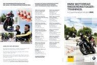 trainings mit dem ADAC (PDF, 3,2 MB) - BMW Motorrad