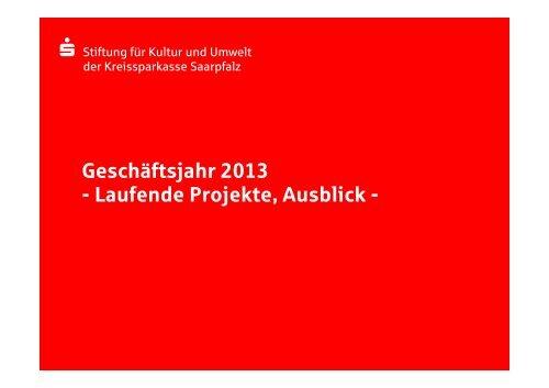 Ausblick - Kreissparkasse Saarpfalz