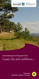 Broschüre mit Veranstaltungen (PDF) - Naturpark Eichsfeld-Hainich ...