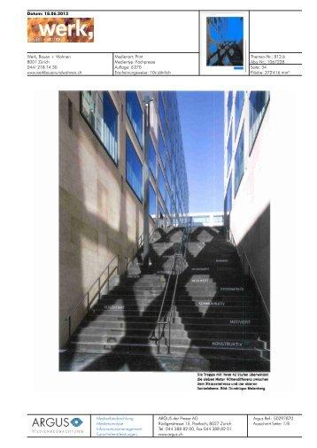 Werk, Bauen + Wohnen von 18.06.2013, 2 MB - Europaallee