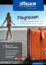 Flugreisen - Reisebüro Jäger GmbH