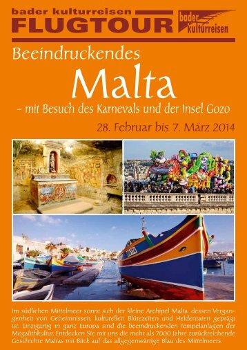 Ausführliches Programm herunterladen - Bader Kulturreisen